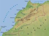 Atlas Mountain Map