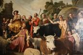 God verschijnt aan Abraham in Sichem
