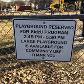 Playground Use