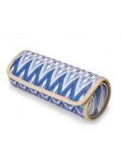 Roll With it in Indigo Ikat