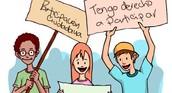 Cada persona del pueblo tiene el derecho a participar. ☆