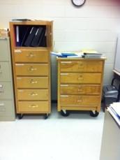 12. System-Wide Standardized Wooden Med Carts