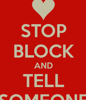 Stop Block and Tell