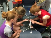 Team Challenge  - Build a bridge to hold weight