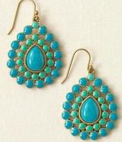 Charlize Teardrop Earrings - $18