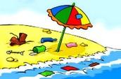 البحار والشواطئ تتلوث