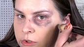 Applying Fake a Bruise