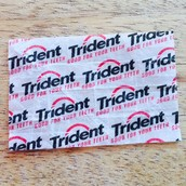 I Am Going To use Every Day Things Like Gum Rappers