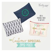 November Customer Special - Zipper Pouch