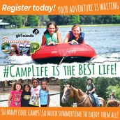 Register Today for Girl Scout Summer Camp