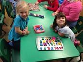 Alphabet magnets (Enrichment)