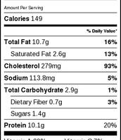 Healthy Nutrents Label