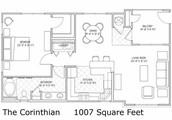 The Corinthian Floor Plan!