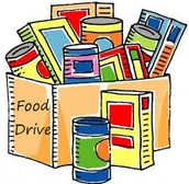 Student Council Food drive