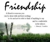 Friendship is very important!