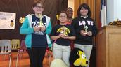 Henderson Elementary School Spelling Bee Winners