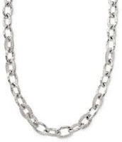 Christina Link Silver Necklace $35