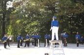 Cheltenham High School Marching Band Visits Cheltenham Elementary