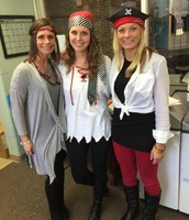 3rd Grade Team rocks the pirate look.