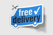 Get It Delivered Right Up To Your Front Door For Free!