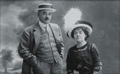 Milton Hershey and his wife, Kitty!