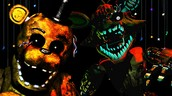 golden freddy and foxy the fox