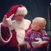 TCC Signing Santa - Dec 5, 2014