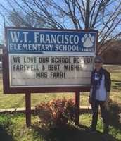 Thank you for your 39 years Mrs. Farr!