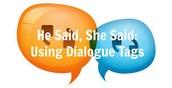 Writing dialogue tags