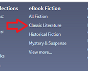 Click on categories in the menu to browse the collection.