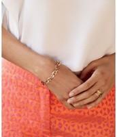 Christina Link Bracelet in Gold