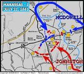 Battle of the First Battle of Ball Run Map