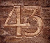 What is 43?
