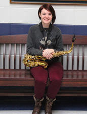 Hannah Harris, All-State White Band