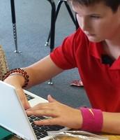 6th Grade Working Hard