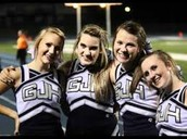 I cheer for the Greenwood Buuldogs!!! <3