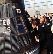 John F. Kennedy Space race