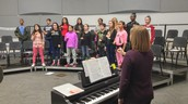 Choir Hard at Work