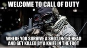 Welcome To Call Of Duty :D