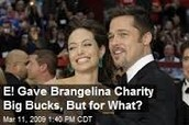 E! Donates $250,000 to the Jolie-Pitt Foundation