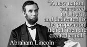 Abraham Lincoln Gettysburg Address Quote