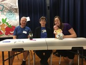 3 1/2 volunteer judges for our Pillow field day spirit competition!