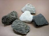 Types of rocks