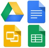 Google Docs, Drive, Slides, Spreadsheets