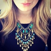 Malta Bib Necklace- $40