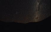 Night time on Mars