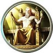 Circular man Zeus