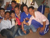 Unusual Party in the Banteay Meanchey Prison