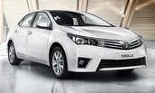Toyota Corrola has a big sales event