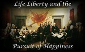three rights that were unalienable and people were born with was
